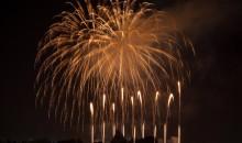 Disneyland Fireworks from Hotel
