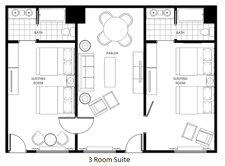 Why Staying in a Suite is the better choice for Families  Why Staying in a. Two Bedroom Hotel Suites