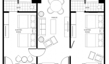 Three Room Suite