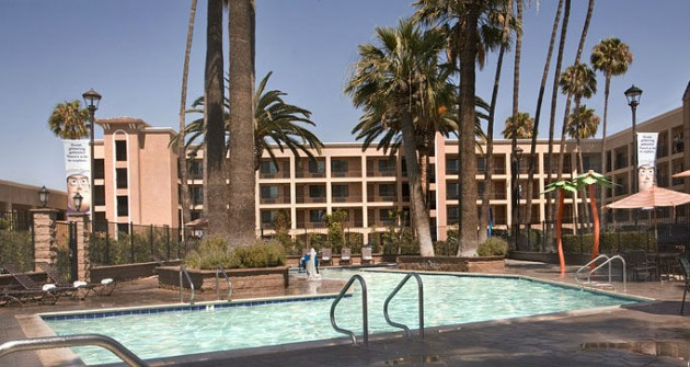 New Pool and Building at Ramada Maingate in Anaheim, CA